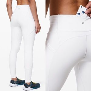 """Lululemon All The Right Places Pant II 28"""" White"""